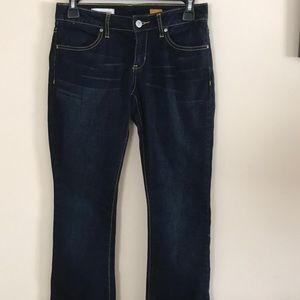Anthropologie Pilcro | low rise boot cut jeans